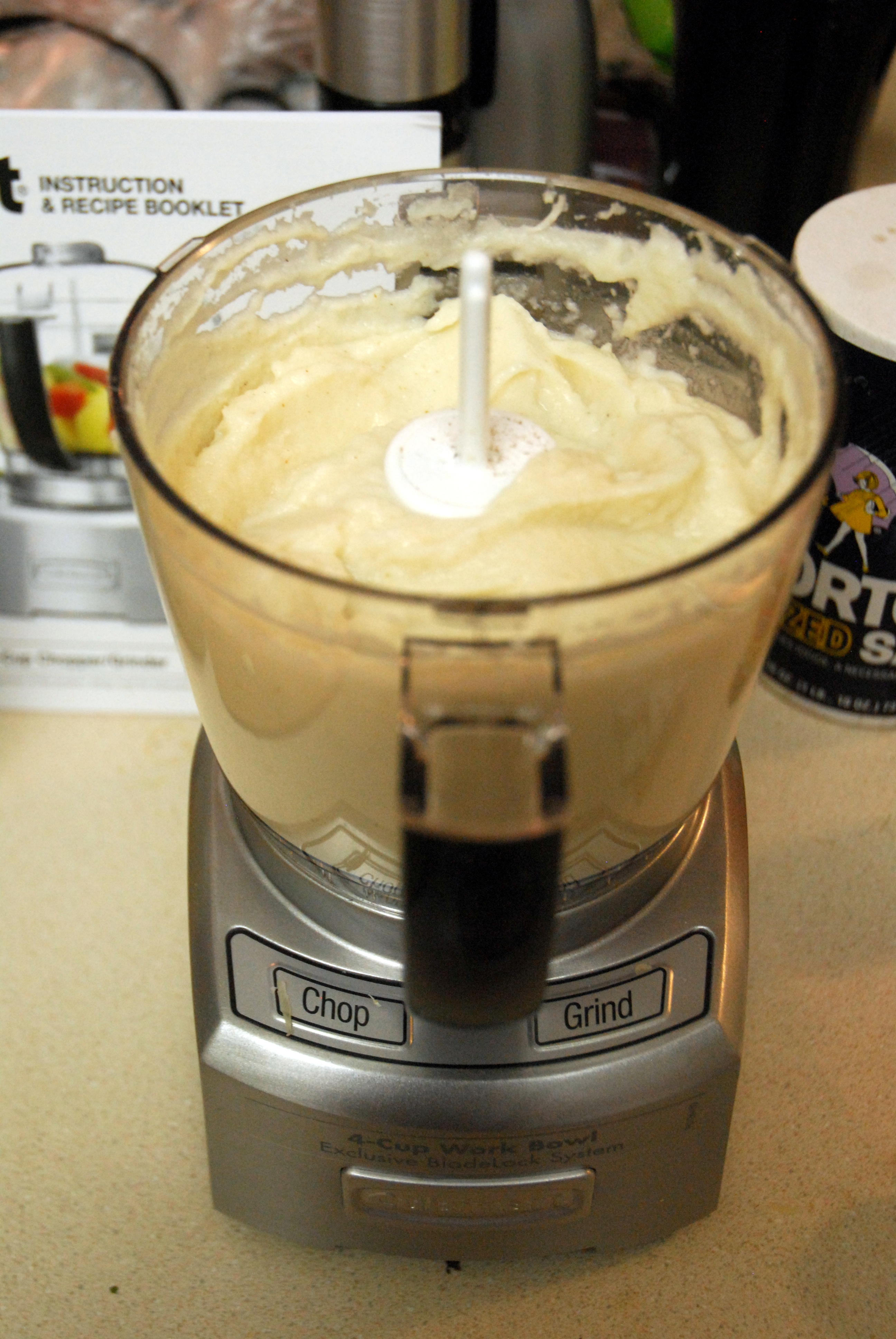 """Cauliflower """"Mashed Potatoes"""" 